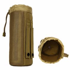 [Visit to Buy] Protector Plus Outdoor Sport Camping Hiking Tactical Water Bottle Pouch Military Molle Pack Camouflage Gear Waist Back Pack  #Advertisement