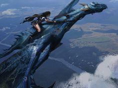 Dragon Rider Fantasy Art