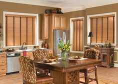 Adorable Faux Wood Blinds