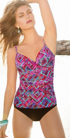 5ab6aa91ff Shop our large collection of Tankini swimwear top   bottoms. We offer many  different styles of Tankini beachwear and resortwear.