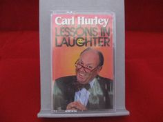 A brand new cassette of Lessons In Laughter by Carl Hurley. #carl #hurley #laughter #cassette #comedy #humor #bonanza