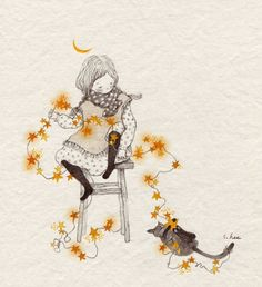 그 때의 나는 참... 별을 좋아하는 아이였습니다. 밤마다 밖에 나가 좋아하는 별자리를 찾아보고.. 쏟아지는 은하수의 별빛에 황홀해하곤 했지요. 아무도 없는 시골의 작은 집 마당에 서서 별을 보고 있노라면 내가 땅에 서 있는 것인지...우주 속에 떠다니는 것인지 모를 지경이 되었습니다..  밤하늘에서..그 때의 것만큼 많고 아름다운 별을 보지 못하게 된 지금.. 나는 더 이상 밖에 나가 별을 보지도..좋아하는 별자리를 찾아보지도 않습니다.. 밤하늘의 까만색마저 탁해져버린 지금을 원망하며 그렇게 무수한 밤을 흘려보내고.. 무덤덤해진 마음으로 무심코 밤하늘을 올려다보던 어느 날...나는 알아버렸습니다. 내가 잃어버린 것은 맑은 밤하늘도 ..아름다운 별빛도 아니라 주위의 모든 아름다운 것에 경탄하고 감사했던  그 때의 나의 모습이라는 것을......