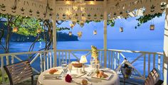 "While your guests watch on with tears of joy in their eyes, step up to a romantic beachside gazebo to say ""I do"" to your love at Sandals La Toc in romantic St. Lucia. Contact Certified Sandals Specialist Sheila with Carefree Romantic Vacations at Sheila@CarefreeRomanticVacations.com or 909-255-1410 www.CarefreeRomanticVacations.com"