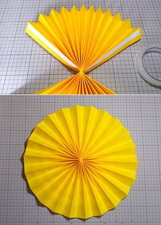 Paper Flower Patterns, Paper Flowers Craft, Giant Paper Flowers, Flower Crafts, Paper Crafts, Garden Party Decorations, Decoration Table, Birthday Party Decorations, Craft Work For Kids