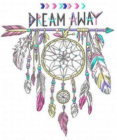 Dreamcatcher 2 machine embroidery design. Machine embroidery design. www.embroideres.com