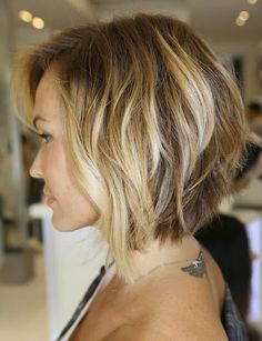 Naturally Curly Inverted Bob Straight bob or curly bob