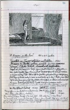 Sketchbook  by  Edward Hopper