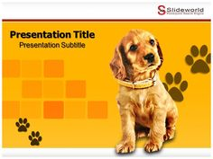 free dog powerpoint template
