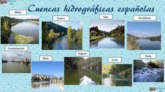 Aguas y red hidráulica en España.