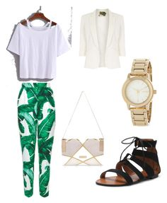 """""""Church"""" by giaai on Polyvore featuring Dolce&Gabbana, River Island, DKNY and Jolie Moi"""