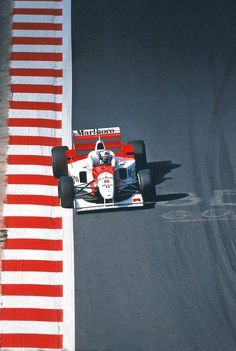 David Coulthard, McLaren, 1996 Belgien GP