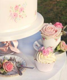 Cake, Cupcakes & Tea Cups