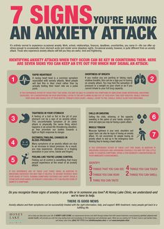 Identifying anxiety attacks when they occur can be key in countering them. This article addresses 7 Signs You're Having an Anxiety Attack Anxiety Coping Skills, Anxiety Tips, Anxiety Help, Social Anxiety, Stress And Anxiety, Anxiety And Depression, School Counselor, Inspirational Quotes, Exercises