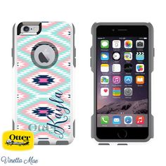 Custom Otterbox Commuter Series phone cases for the iPhone 6s Plus, iPhone 6 Plus, iPhone 6s, iPhone 6, iPhone 5s, iPhone 5, and iPhone SE. (Does not
