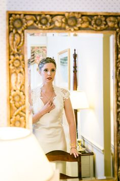 Portrait of a bride before her India House wedding by NYC wedding photojournalist, Kelly Williams  See more photos here:  http://blog.kellywilliamsphotographer.com/melody-michael-get-married-india-house/  #RealWedding  #WeddingPhotography  #Wedding