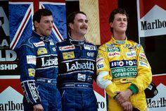 Ricardo Patrese | Nigel Mansel | Michael Schumacher