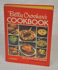 BETTY Crockeru0027s COOKBOOK New And Revised EDITION 1980 Third Printing  HARDCOVER