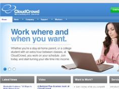 CloudCrowd is hiring writers and editors to work from home.  It's not a scam - I've been working for this company for a couple years now.  They pay daily.