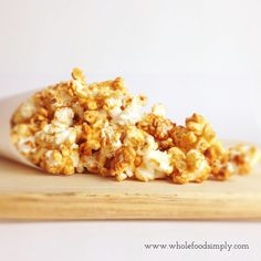 Peanut butter popcorn - my kids love this!!!!