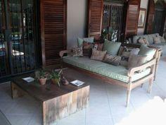 sofa antigo reformado com futon