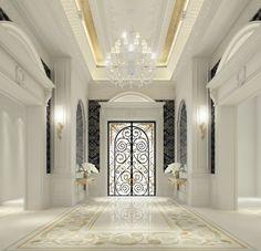 IONS DESIGN…leading the interior design companies for house designs & interior design Dubai full range of services including bedroom design & luxury furnishing Interior Design Dubai, Lobby Interior, Interior Design Companies, Interior Architecture, Dubai Architecture, Apartment Interior, Apartment Design, Flur Design, Plafond Design
