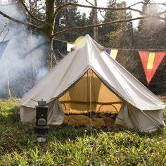 Bell Tent - traditional - Gazebos - Pedlars