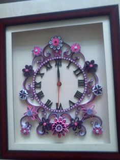 344 best Quilling Clocks images