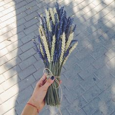 Ikebana Flower Arrangement, Flower Arrangements, Flower Farm, My Flower, Dried Flowers, Paper Flowers, Wedding Bouquets, Wedding Flowers, Lavender Bouquet