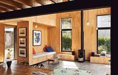 6 Built-In Lounges - Popadich House, Devonport, NZ