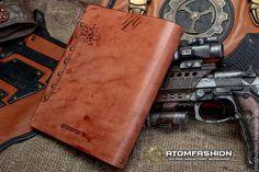 """Купить Тетрадь кожаная """"Сталкер"""" - ежедневник, блокнот, блокнот ручной работы, кожаная тетрадь"""