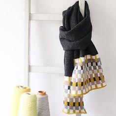 Handmade Knitted Lambswool Scarves- Buy Luxury Scarves Online