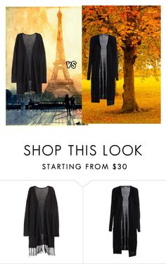 """""""Vs."""" by coffeeyolo173 on Polyvore featuring H&M and Vero Moda"""