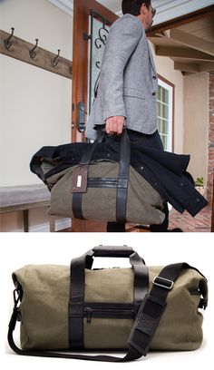 Duffel bag. With style.
