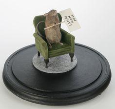Les Deux Garçons - Moi non plus! (taxidermi / mixed media) / Jaski Art Gallery