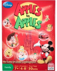 Goofy comparisons, great #Disney characters, unforgettable family fun…what more could you ask for?! Click above to buy the Apples to Apples #game.
