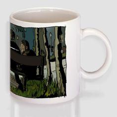 """""""Το Μικρό Ψάρι""""-Μάκης Mugs, Tableware, Dinnerware, Tumblers, Tablewares, Mug, Dishes, Place Settings, Cups"""