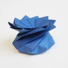 Origami Quasi Crystalline Tato Gift Box - Dark Blue Origami Gift Box, Oragami, Little Boxes, Wedding Favours, Gift Boxes, Small Gifts, Dark Blue, Prints, Handmade