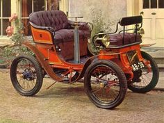 1901 De Dion Bouton. Truly a horseless carriage.
