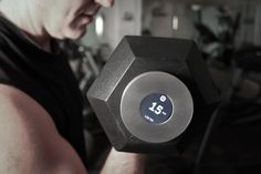 SmartIRON: Magnetic Workout Tracker  Looking for an easy way to track your workouts?  A new Kickstarter project called the smartIRON makes it easy by doing all the tracking for you. The disc-shaped aluminum gadget uses a magnet to stick directly onto the weights you are lifting.
