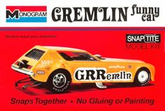 Monogram Gremlin funny car - GRRemlin