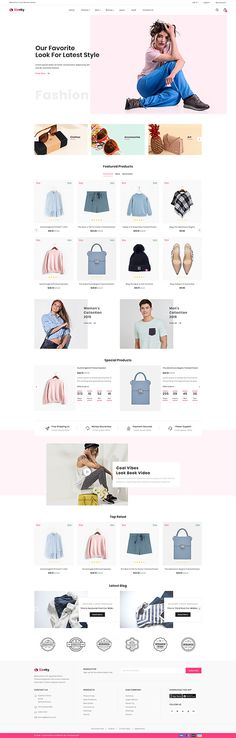 It's all about Web Templates & Themes Best Shopify Themes, Navigation Design, News Web Design, Electronic Shop, Ecommerce Template, Ecommerce Website Design, Modern Shop, Custom Fonts, Website Design Inspiration