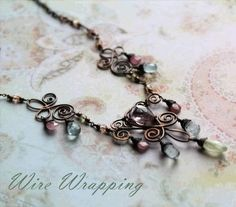Free wire wrapping tutorials - from Danagonia by leslie