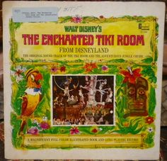 "George Bruns and Camarata. ""Walt Disney Presents The Enchanted Tiki Room and The Adventurous Jungle Cruise."" -U.S., Disneyland Records ST-3966, stereo, c1968. Exotica record."