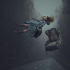 "Fresh pic for my ""Distorted gravity"" series. © Anka Zhuravleva  Digital, 5d mark3 + 135 2.0L canon lens  For my everyday' pics and backstages look up here @anka_zhuravleva"