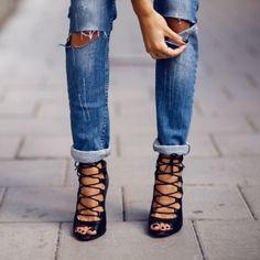 Pose by fashcognoscente Bik Bok Jeans and Zara Heels from September 11, 2013 | Pose