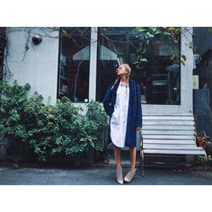"""""""Outfit of the day Jacket..msgm Shirt..Acne Studios Heels..Charlotte Olympia"""""""