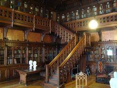 Biblioteca privada de Nicolas II en el Palacio de Invierno