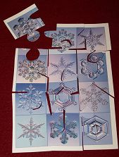 Christmas card puzzle.