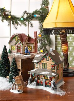 department 56 a christmas story christmas story lamp christmas town christmas villages christmas