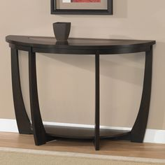 Archer Espresso Sofa Table | Overstock.com - thinking about this table in the entry way